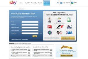 Sky-contratto