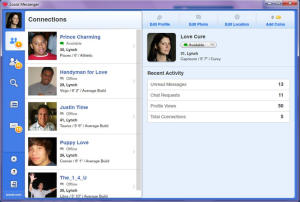Zoosk screen