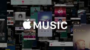 apple music screen