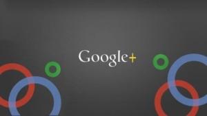 google+ screen