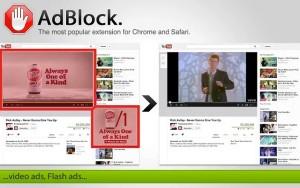 adblock screen