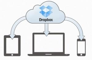 dropbox screen