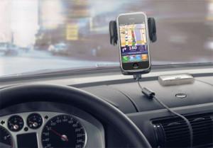 gps iphone screen