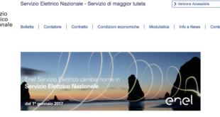 Disdetta Servizio Elettrico Nazionale